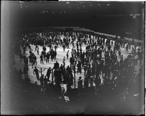 Open skating on Boston Garden ice