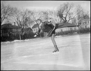 Maribel Vinson - national champion figure skater