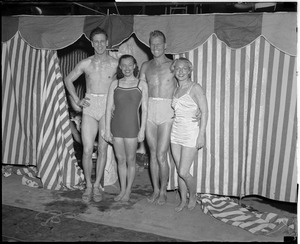 Famous swimmers in Boston