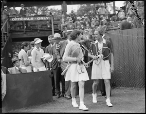 Tennis [Possibly Sarah Palfrey and Helen Jacobs]