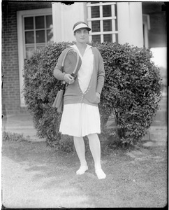 Helen Wills at Essex Country Club in Hamilton, MA