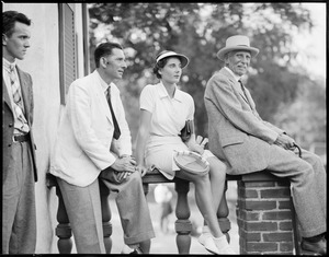 Mr. Wright and Helen Wills - Longwood