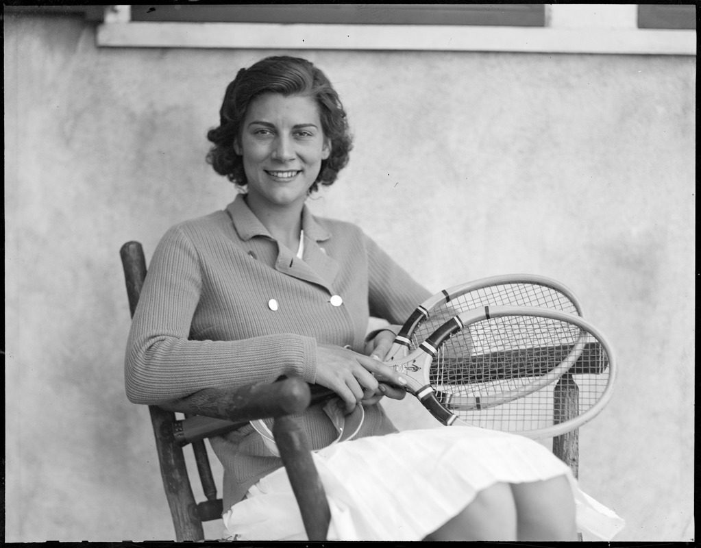 Virginia Rice, tennis star