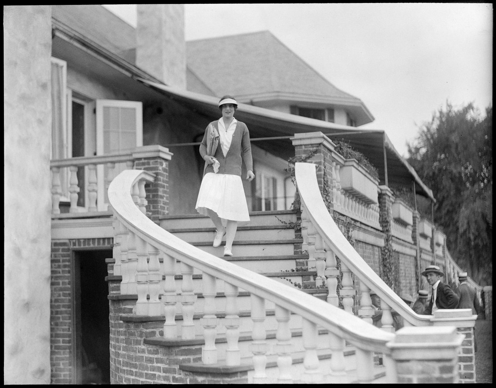 Helen Wills at Longwood Tennis Club Chestnut Hill Digital