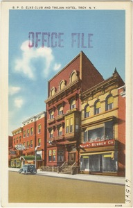 B. P. O. Elks Club and Trojan Hotel, Troy, N. Y.