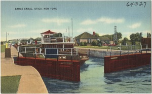 Barge Canal, Utica, New York