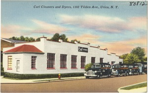 Carl Cleaners and Dyers, 1102 Tilden Ave, Utica, N. Y.
