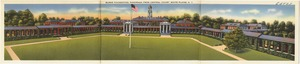 Burke Foundation, panorama from central court, White Plains, N. Y.