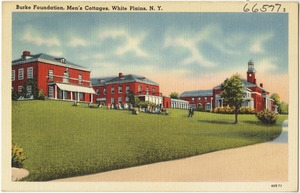 Burke Foundation, men's cottages, White Plains, N. Y.