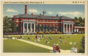 Burke Foundation, dining hall, White Plains, N. Y.