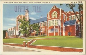 Longfellow Junior High School, North Broadway, Yonkers, N. Y.