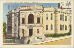 Yonkers Public Library, South Broadway, Yonkers, N. Y.