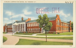 Charles E. Gorton High School, No. Yonkers, N. Y.