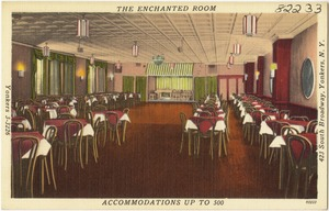 The Enchanted Room, accommodations up to 500, 423 South Broadway, Yonkers, N. Y.