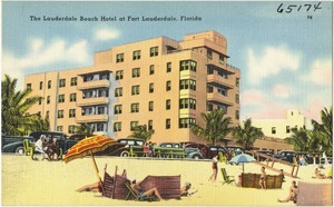 The Lauderdale Beach Hotel at Fort Lauderdale, Florida