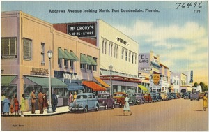 Andrews Avenue looking north, Fort Lauderdale, Florida