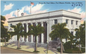 Open air post office, Fort Myers, Florida, City of Palms