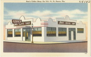 Ann's Coffee Shop, on U.S. #1, Ft. Pierce, Fla.