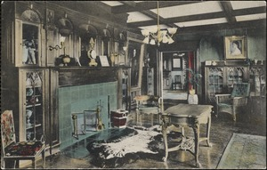 Memorial Room, Henry C. Nevins, Home for the Aged, Methuen, Mass.