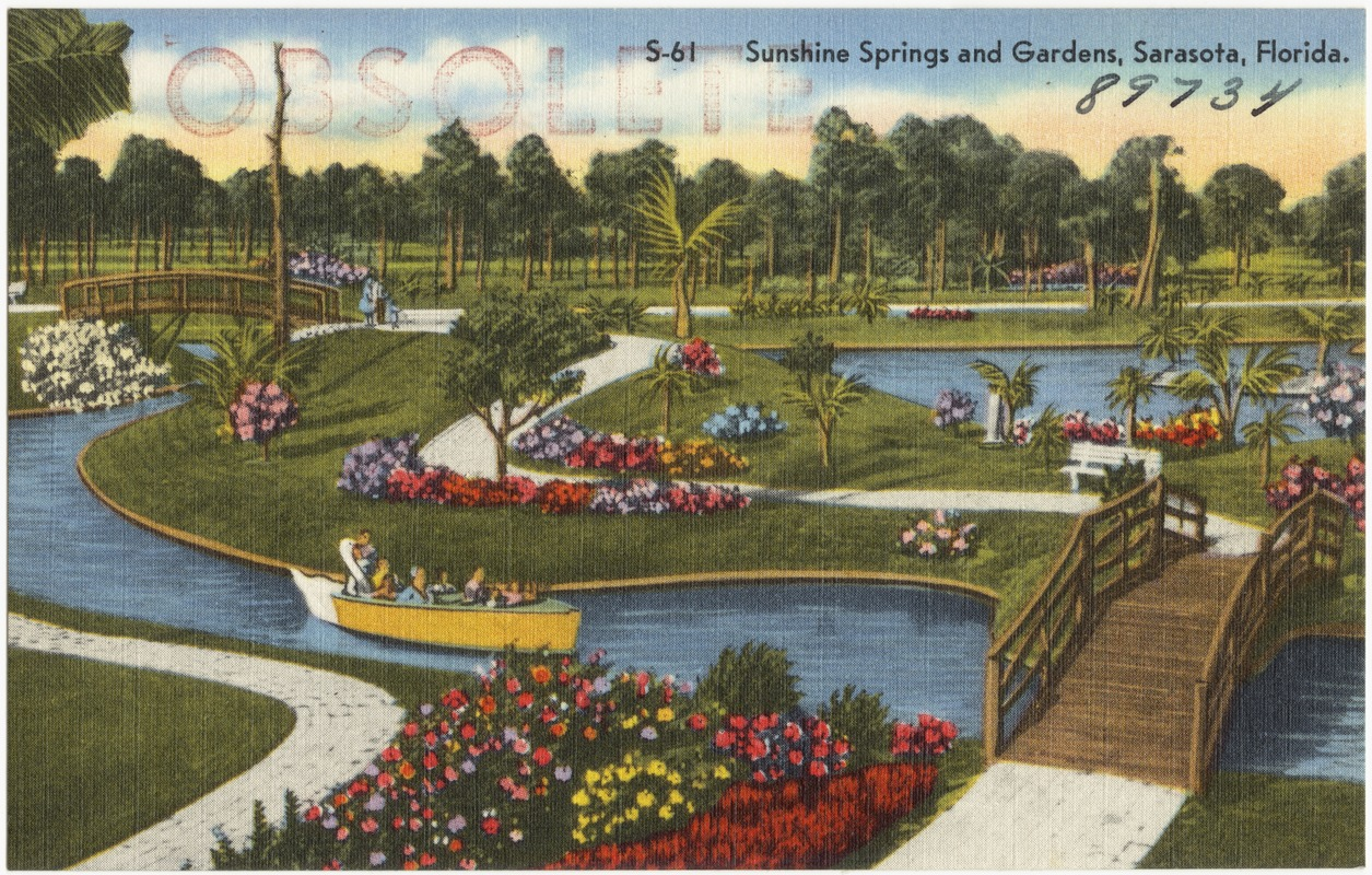 Sunshine springs and gardens, Sarasota, Florida - Digital Commonwealth