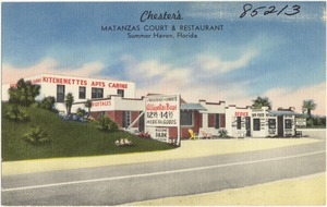 Chester's, Matanzas court & restaurant, Summer Haven, Florida