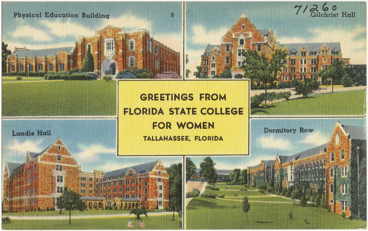 Greetings from florida state college for women tallahassee greetings from florida state college for women tallahassee florida kristyandbryce Image collections