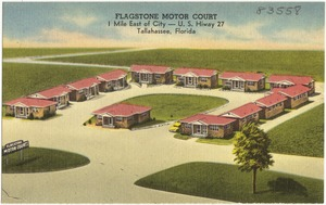 Flagstone Motor Court, 1 mile east of city- U.S. Hiway 27, Tallahassee, Florida