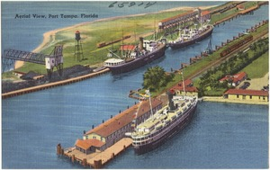 Aerial view, Port Tampa, Florida