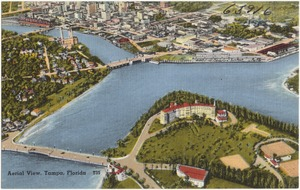 Aerial view, Tampa, Florida