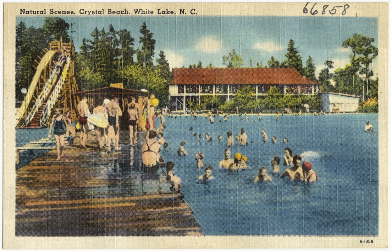 Natural Scenes Crystal Beach White Lake N C