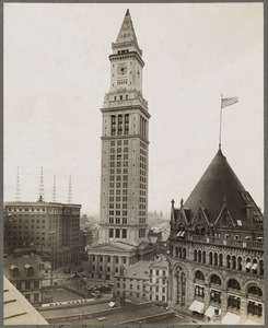 Boston, Massachusetts. Custom House tower