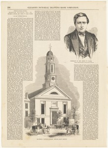 Portrait of Rev. Rufus W. Clark ; Maverick Congregational Church, East Boston