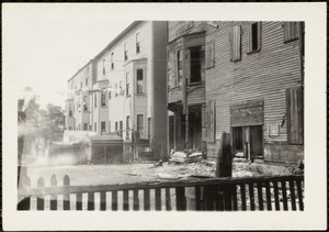 Rear of vacant dwelling, 8-10 Blane Ave., Allston