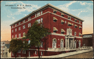 Atkinson Y.M.C.A. home, Greensburg, Pa.