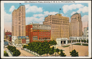 Reybourn Plaza, showing Y.M.C.A., Philadelphia, Pa.