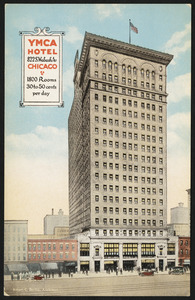 YMCA Hotel 822 S. Wabash Av Chicago, 1800 rooms 30 to 50 cents per day