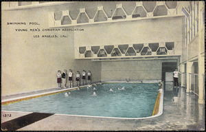 Swimming pool, Young Men's Christian Association Los Angeles, Cal.
