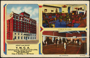 Army and Navy Y.M.C.A. 166 Embarcadero - one block from ferry bldg. Near Bay Bridge Terminal San Francisco class A building - 400 rooms