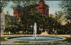 East Grand Circus Park and Y.M.C.A., Detroit, Mich.