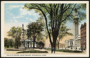 The Civic Center, Court Square, Springfield, Mass.