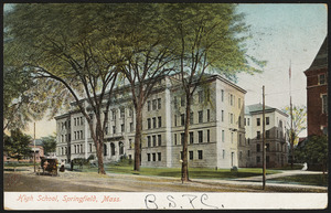 High school, Springfield, Mass.