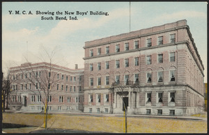 Y.M.C.A. showing the new boys' building, South Bend, Ind.