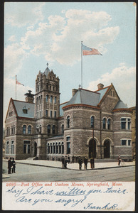 2680 - Post Office and Custom House, Springfield, Mass.