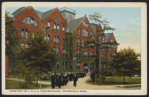 Dormitory of Y.M.C.A. Training School, Springfield, Mass.