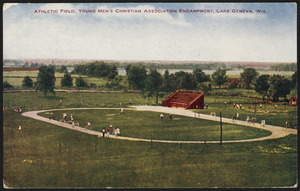 Athletic field. Young Men's Christian Association, Lake Geneva, Wis.