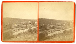 View of Skinnerville, Williamsburg, Mass., after the 1874 Mill River Disaster