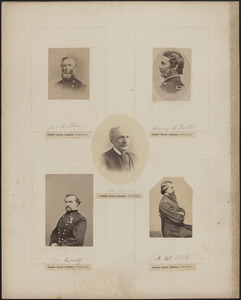 Five portraits: James A. Ekin, Henry L. Eustis, John Edwards, Charles Ewing, A. W. Ellett