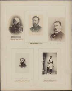 Five portraits: H. G. Gibson, J. P. S. Gobin, G. W. Gile, William Glenny, George W. Gile