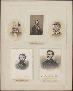 Five portraits: W. B. Kinsey, Rufus King, W. S. King, Edward N. Kirk, Oliver Blachly Knowles