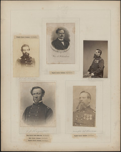 Five portraits: F. S. Rutherford, William A. Richardson, [two of] Joseph W. Revere, J. J. Reynolds